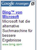 Bing bei AdSense 3