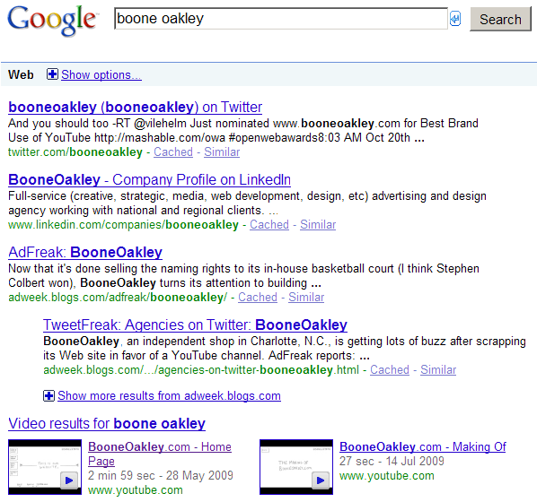 SMO YouTube Boone Oakley